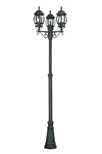 Massive 150354510 Mastleuchte, E27, Aluminium, schwarz, 60 x 60 x 225 cm