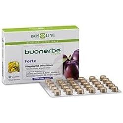 Nahrungsergänzungsmittel Magen Darm Per Il Transito Intestinale, Stipsi Buonerbe Regola Forte 60 Tavolette