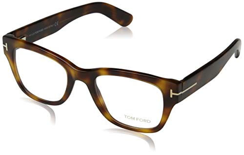 Tom Ford Herren Ft5379 Brillengestelle, Braun (Avana SCURA), 51