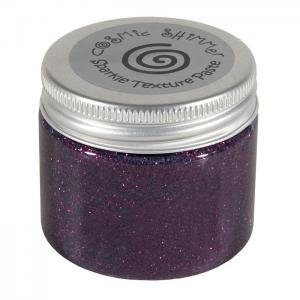 Creative Expressions Cosmic Shimmer Rich Plum Sparkle Texture Paste 50 ml