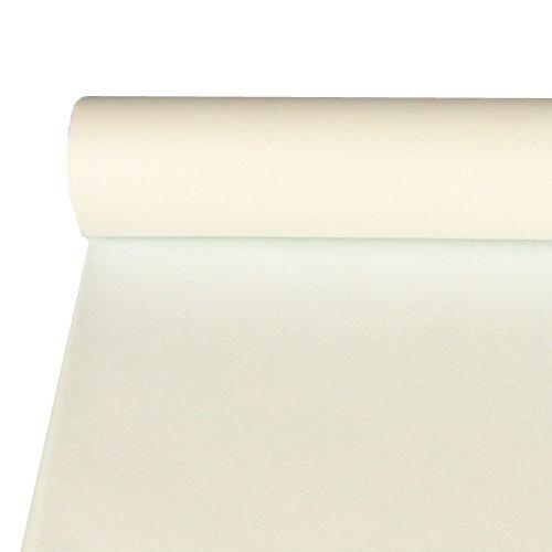 Preisvergleich Produktbild NEU Tischtuch aus Vlies, weiß 10 x 1,18 m