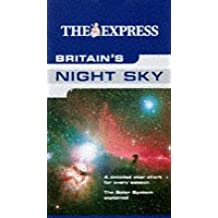 """""""The Express"""" Britain's Night Sky (AA Maps)"""