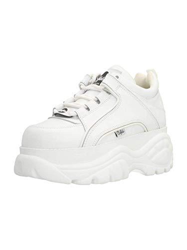 Buffalo 1339-14 2.0 Damen Sneaker, Weiß, 38 EU