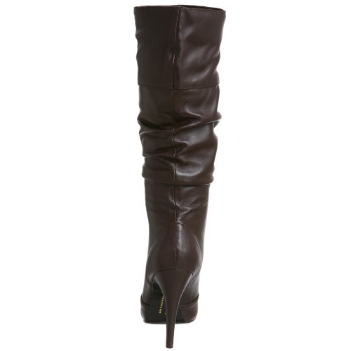 Chinese Laundry Adore Femmes Cuir Botte Chocolat