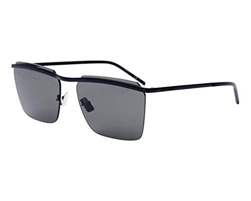 Yves Saint Laurent Sonnenbrillen (SL-243 003) matt schwarz - grau