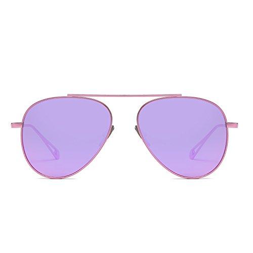 Ofgcfbvxd Superleichter Rahmen Sport Sonnenbrille Persönlichkeit Metall Sonnenbrille Trend Sonnenbrille Unisex Frosch Spiegel Skifahren Angeln Golf