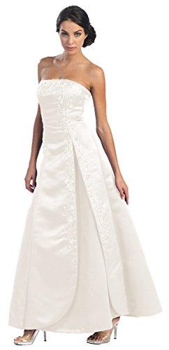 Ballkleider lang Abendkleid elegant Corsagenkleid Brautkleid A-Linie XXL