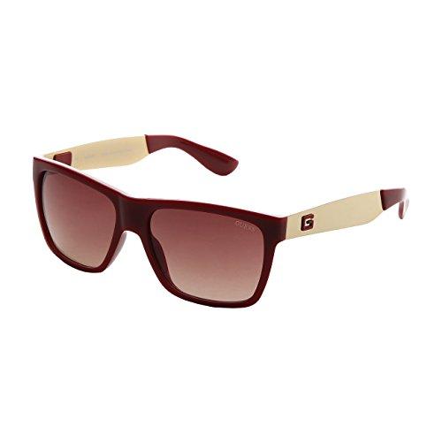Guess Herren GU6832RD-34 Sonnenbrille, Violett (Viva Color), 57
