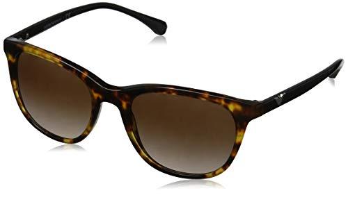 Emporio Armani Damen 0EA4086 Sonnenbrille, Braun (Blonde Havana), 54