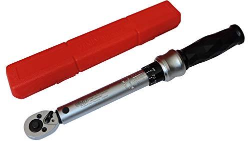Famex 10872 Drehmomentschlüssel, 6,3 mm (1/4-Zoll)-Antrieb, Messung in beiden Drehrichtungen, 6-30 Nm (3 8 1 4 Drehen Sie Das Ventil)