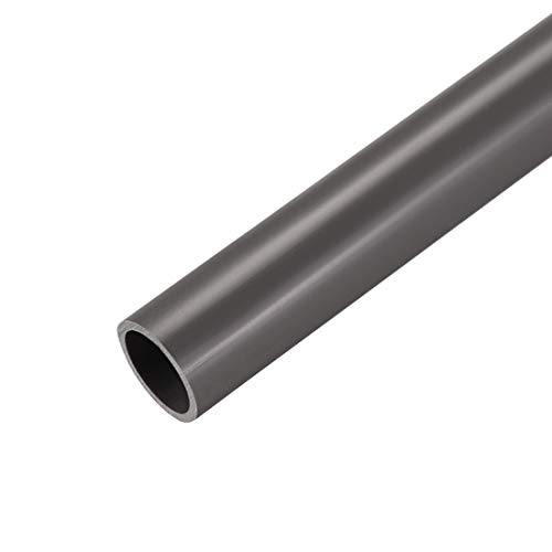 sourcing map PVC rigido tubi rotondi 21mm ID x 25mm diametro esterno 0.5M/1.64ft lunghezza grigio 3pz