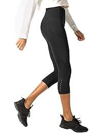 LAPASA Legging avec Poches Capri Pantacourt de Sport Femme Coupe Genoux  Amincissant - Yoga Fitness 2ce358fad66