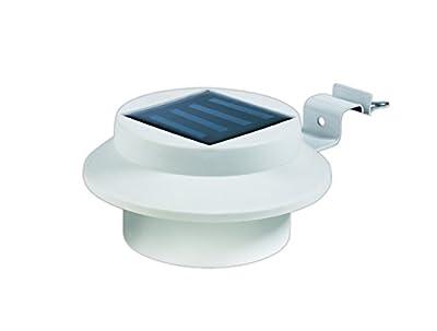 EASYmaxx Solar-Dachrinnenleuchten 6er-Set weiß