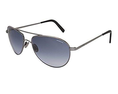 Randolph Engineering The Hawk Dark Ruthenium Polished Sunglasses - Blue  Gradient Nylon Skull 57MM bb2ad99d7fdc