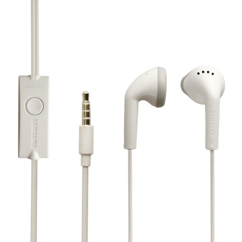 For Samsung Original Earphones - EHS61ASFWE Headphones With 3.5mm Jack & Mic