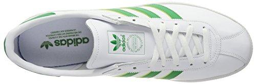 adidas Originals München, Scarpe da Ginnastica Basse Uomo Bianco (Core White)