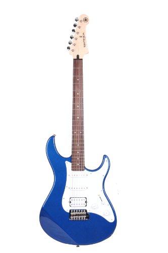 Yamaha Pacifica 012 Guitarra Eléctrica - Guitarra 4/4 de madera, 64.77 cm, escala 25.5 pulgadas, 6 cuerdas, selector pastillas de 5 posiciones, color Azúl Metálico