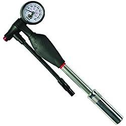 Zefal Z Shock - Bomba de alta presión para bicicletas, color plateado