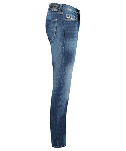 Diesel Herren Tapered Fit Jeans Blueblack