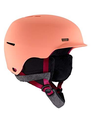 Anon raven, casco snowboard donna, coral, m