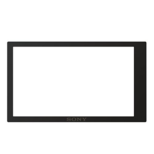 Sony Pcklm17 Screen Protect Semi-hard Sheet For Sony Alpha A6000 (black)
