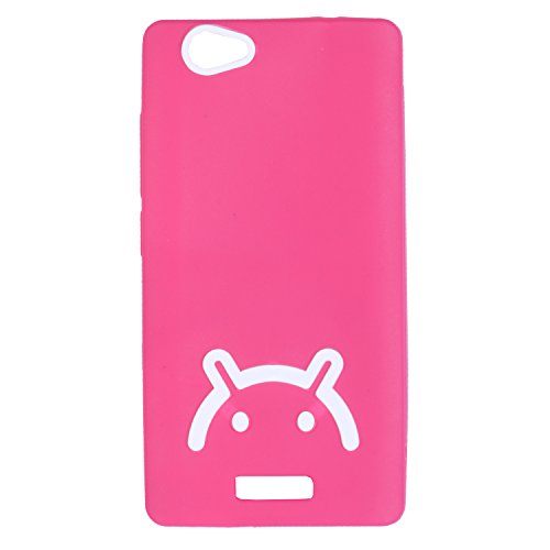 iCandy™ Soft TPU Back Cover For Gionee Marathon M2 - Pink  available at amazon for Rs.195