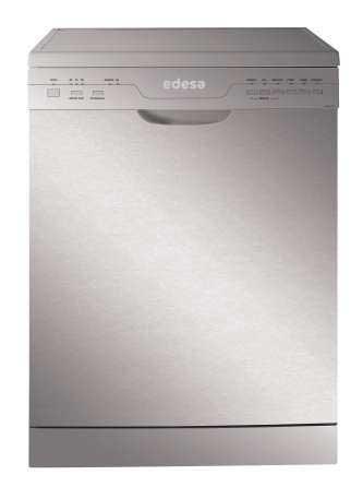 Edesa URBAN-V2X lavavajilla - Lavavajillas (Independiente, Acero inoxidable, 55 Db,...
