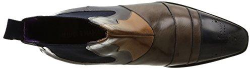 Melvin & Hamilton Elvis 12, Bottes Classiques Homme Multicolore (Classic Navy/Stone/Ash/Elastic Navy)