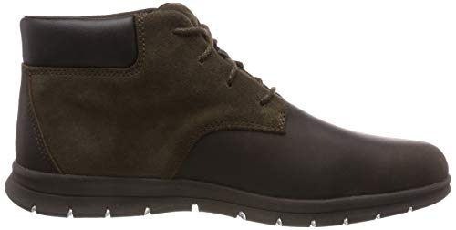 Timberland Men s Graydon Chukka Boots   Dark Brown Connection 242   7 5  41 5 EU