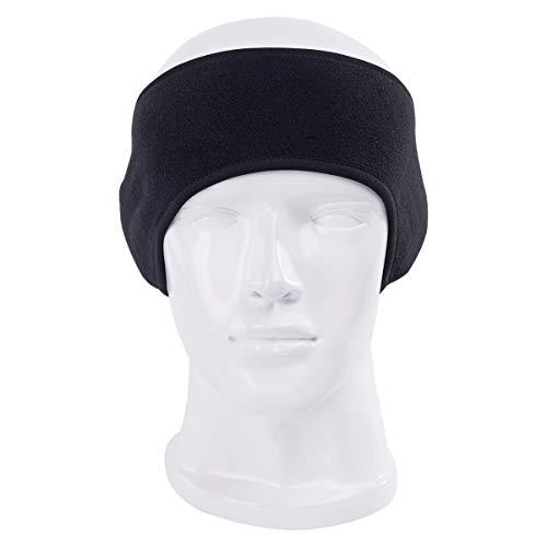 Zeagro Unisex Damen Herren Ohrenschützer Winter Kopfband Polar Fleece Ski Ear Muff Spandex Stirnband für das Haar Zubehör Polar-fleece Ear Warmer