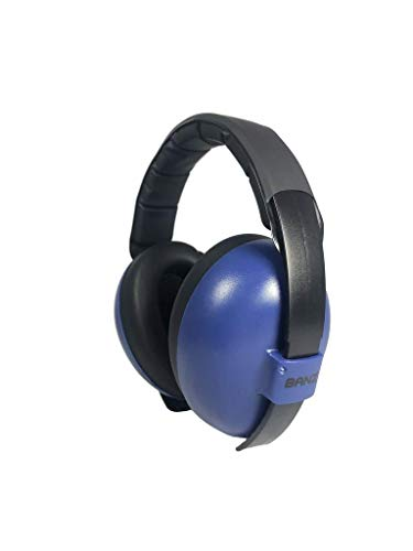BANZ Ohrenschützer mit Schutz für Babys und Kleinkinder (Klassifizierung der Branchenführer für Lärmreduzierung und Lärmschutz) Marine -