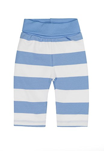 Steiff Baby-Jungen Jogginghose, Blau (Milky Blue 3182), 86