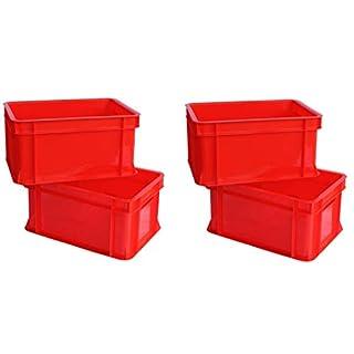 Artecsis Minibox Storage Box 11 L Storage Box Stackable Plastic red