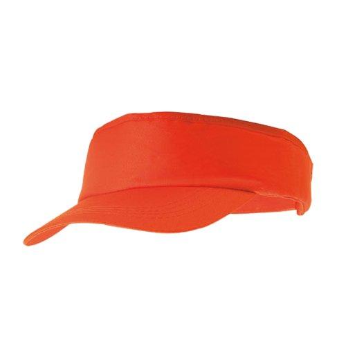 eBuyGB eBuyGB Unisex 1259110Sun Summer Sports Schatten Cap, Orange, One Size