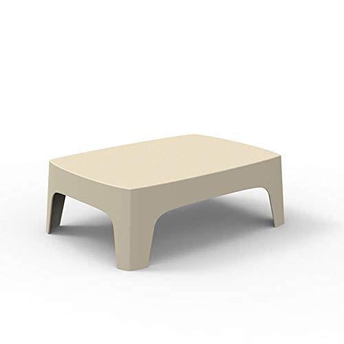 Vondom Solid Table Basse pour l'extérieur écru