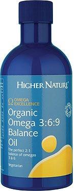 Higher Nature Organic Omega 3:6:9 Balance Oil - Large - 350Ml