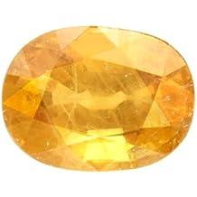 5.25 Ratti Pokhraj Natural Yellow Sapphire Certified