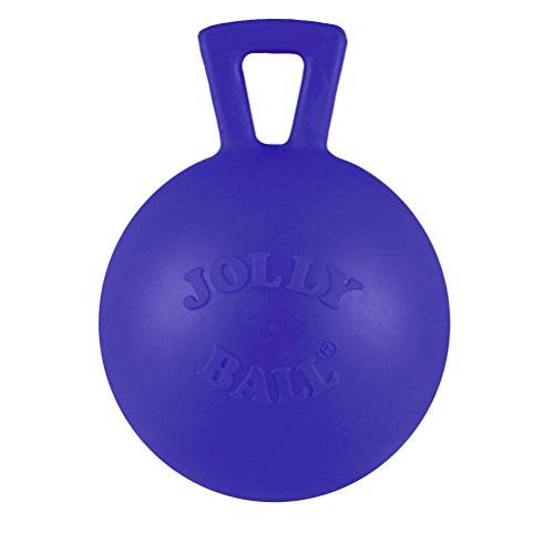 Jolly Pets JOLL047K Hundespielzeug - Tug-n-Toss Mini Treat Dispensing, 7.5 cm, blau -