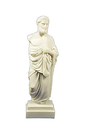 Estia Creations Hippokrates Skulptur Statue Antike Griechische Vater der modernen Medizin (Hippokrates-statue)