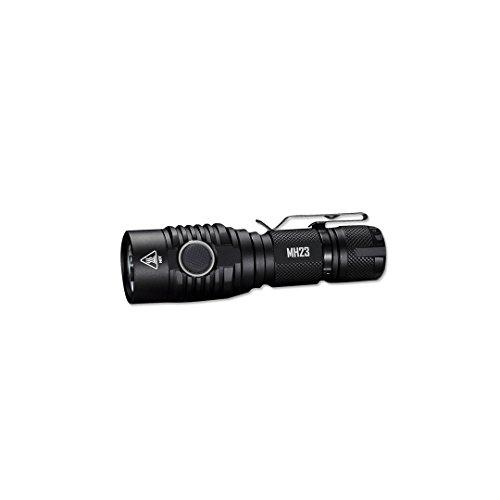 Nitecore MH231800Lumen USB wiederaufladbar Compact Taschenlampe, Schwarz