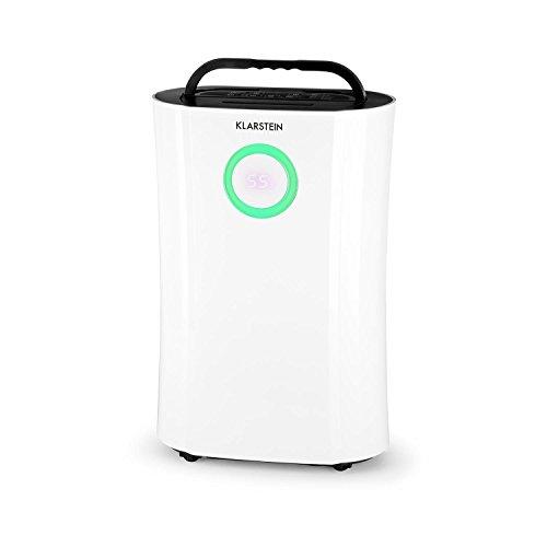 Clear DryFy Pro • Deshumidificador compresión • Secador de Aire • Acondicionador ambiente • Purificador • Función UV • Humedad programable • Temporizador • Filtro de nylon • Ideal para espacios de 18 a 20m² • Tanque de 4,0 litros • Color blanco