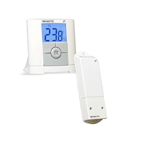Watts Vision Digital Funk Thermostat mit 1x Aufputzempfänger Thermostatregler -