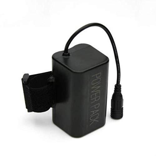 Mia nbaoshu batería de repuesto para bicicleta Lámpara, 8800 mAh resistente al agua waterproof 8.4 V CREE XM-L T6 LED batería Accu 18650 batería Pack utilizable para: T6 Faro Luces, bicicleta, minero lámpara, seguridad alarma, equipo Médico y otros productos digitales electrónicos