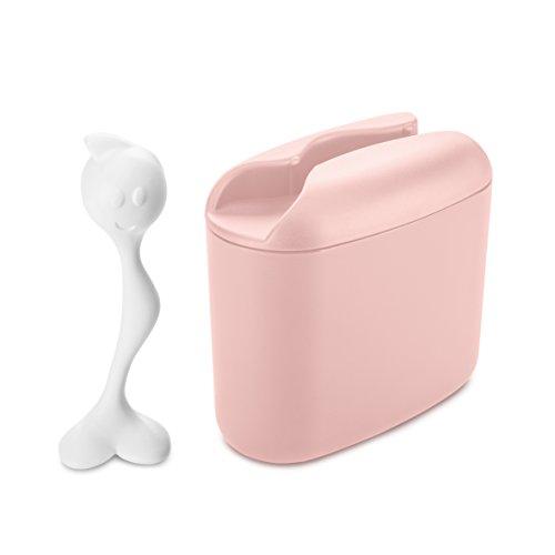 Koziol 3057413Container Hot Stuff 350g in Powder pink-cotton weiß