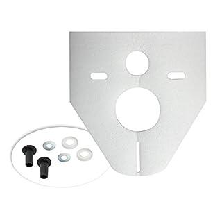 Otto Haas Schallschutzset für Wand-WC, Bidet Standard, 4 mm, weiß, 7440