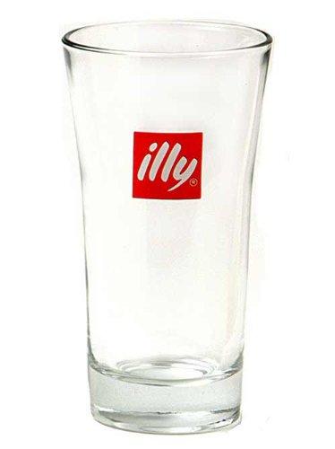 6x illy Latte Macchiato Gläser Service
