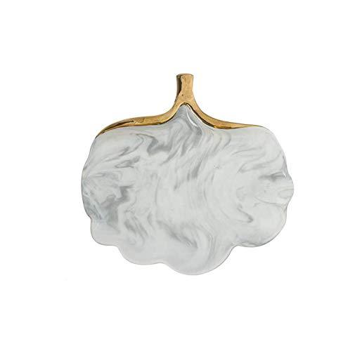 ik Glod Marmor Keramik Teller Teller Suppe Reis Schüssel Suppe Salat Platte Schmuck Teller Ablageschale Dekorative Geschirr ()