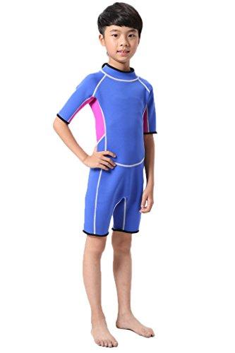 Kinder Neopren Shorty Neoprenanzug 2.5MM Wetsuit Schwimmanzug Diving Suit