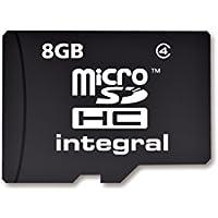 Integral Carte mémoire microSDHC CL4 8 Go