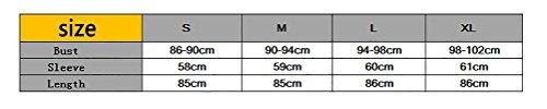 Maglie Donna Invernali Maniche Lunghe Irregolare Elegante Maglieria Sciolto Puro Colore Pulsante Maglione Spacco Cardigan Maglia Casuale Giubbotto Grigio